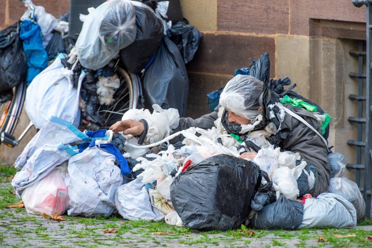 Bildergebnis für Bilder Obdachlose in Deutschland