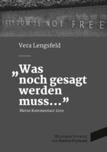 Buch Vera Lengsfeld - Was noch gesagt werden muss - Kopp Verlag 19,89 Euro