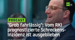 """""""Grob fahrlässig"""": Vom RKI prognostizierte Schreckens-Inzidenz ist ausgeblieben; Bild: Startbild Youtube"""