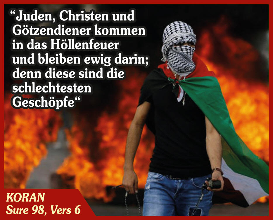 Islam gegen den Rest der Welt; Bild: BPE