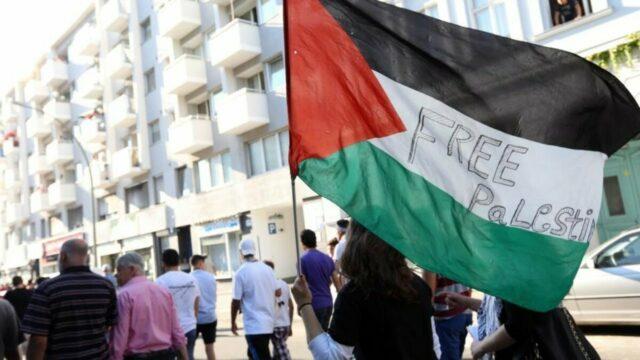 🔴 LIVE aus Berlin: Pro-Palästina-Demo gegen Gewalteskalation in Gaza; Bild: Startbild Youtube