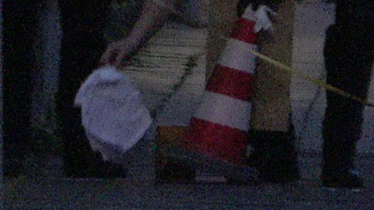 Synagoge mit Steinen beschädigt + Fahne angezündet - 3 Festnahmen in Bonn-Gronau; Bild: Startbild Youtube