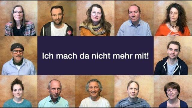 DHB • Ich mach da nicht mehr mit!; Bild: Startbild Youtube