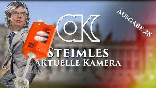 Steimles Aktuelle Kamera / Ausgabe 28; Bild: Startbild Youtube