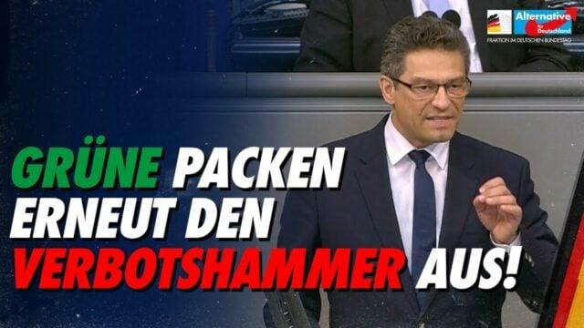 Grüne packen erneut den Verbotshammer aus! - Wolfgang Wiehle; Bild: Startbild Youtube