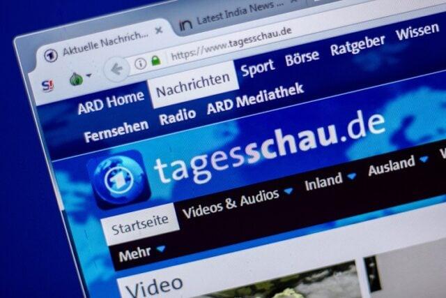 Tagesschau (Symbolbild: shutterstock.com/Von Sharaf Maksumov)