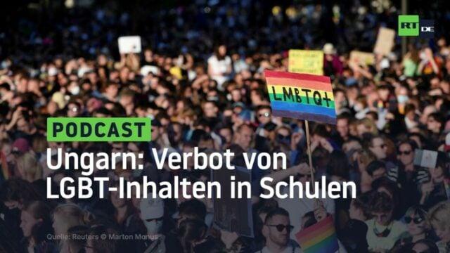Ungarn: Parlament verabschiedet Gesetz zum Verbot von LGBT-Inhalten in Schulen; Bild: Startbild Youtube