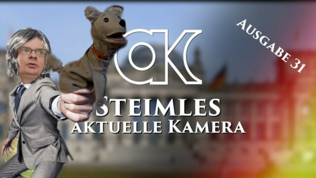 Uwe Steimles Aktuelle Kamera / Ausgabe 31; Bild: Startbild Youtube Uwe Steimle