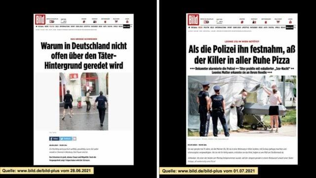 Der unterschiedliche Umgang mit dem Politischen Islam am Beispiel der Morde in Würzburg und Wien; Bild: Startbild Youtubevideo BPE Bürgerbewegung Pax Europa