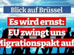 Es wird ernst: EU zwingt uns Migrationspakt auf! | Blick auf Brüssel mit Gunnar Beck; Bild: Startbild Youtubevideo